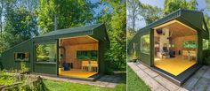 Located in Noorderpark,Utrecht, Thoreau Cabin is made to replace the old shelter. Nestled in the woods, it provides shelter for those working in the park.
