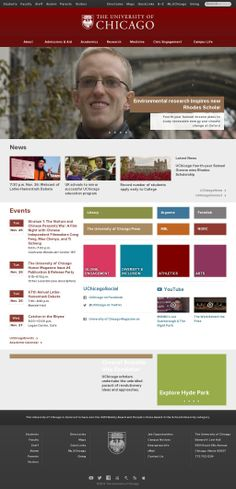 The University of Chicago is a private, nondenominational, culturally rich and ethnically diverse coeducational research university located in Hyde Park, Chicago. Environmental Research, Hyde, University, Chicago, Student, Inspiration, Website, Park, Youtube