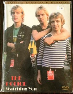 "DVD, bootleg The Police ""watching you"" - The Police performing live at the German music tv show ""Beat Club"" (1978) - also released as LP picture disk bootleg ""Pioneers d'Amour""."