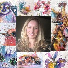 www.sixfootsophie Artist Sophie Appleton ( Sophie Huddlestone )