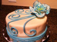 Birthday cake for mom