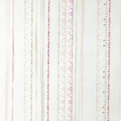 Tapete Aquarell-Streifen perlmutt/rosa/beige 'Oh La La'
