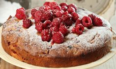 Maggie Beer's fresh raspberry cake with sangiovese verjuice syrup - WYZA Australia Beer Recipes, Fruit Recipes, Dessert Recipes, Recipies, Delicious Desserts, Yummy Food, Aussie Food, Raspberry Cake, Sweet Pastries