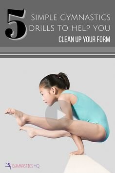 These drills will clean up your form. Small details are important too! Video available. Flexibility Tips, Gymnastics Flexibility, Flexibility Workout, Gymnastics Tricks, Gymnastics Skills, Core Muscles, Handstand, Clean Up, Handstands