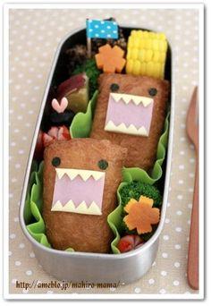 Image result for domo kun sandwich
