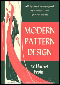 1942 Modern Pattern Design by Pepin  CD pdf by schmetterlingtag, $17.99+2.99
