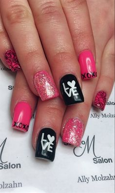 Valentines Nails By Nailsbyally From Nail Art Gallery