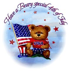 Have A Beary Special Of July of july fourth of july happy of july of july quotes happy of july quotes of july images fourth of july quotes fourth of july images fourth of july pictures happy fourth of july quotes of july gifs Happy July 4th Images, 4th Of July Gifs, Fourth Of July Pics, Fourth Of July Quotes, Happy4th Of July, 4th Of July Fireworks, 4th Of July Wreath, Patriotic Wreath, Teddy Bear Pictures