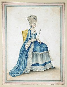 Dress of the Year, 1774 by Ann Frankland Lewis