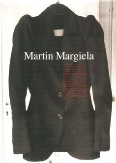 maison martin margiela s/s 1989, paris october 1988. published in street magazine.