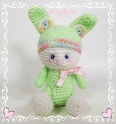 """UNIQUE CREATION """"Love Kids"""" Handmade seat bunny from the house of Kybele Height: 12 cm Soft wool Gentle wash with 30 degrees made in austria Green Recycled packaging Recycling, Hello Kitty, Rabbit, Unique, Kids, Character, Bunny, Packaging, Young Children"""