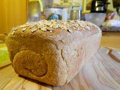 Pane di segale con fiocchi ai 5 cereali