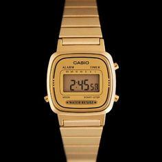 dc93d1fb5c6 Casio LA670WEGA-9EF - Montre casio vintage dorée femmes