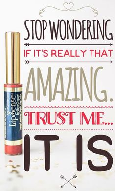 It really is amazing.  Once you try you will never wear anything else.  http://senegence.com/tammytamayo