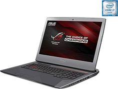 ASUS ROG G752VY-DH72 Gaming Laptop Intel Core i7 6700HQ (2.60 GHz) 32 GB Memory 1 TB HDD 256 GB SSD NVIDIA GeForce GTX 980M 4 GB GDDR5 17.3'' Windows 10 Home 64-Bit