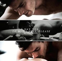 Fifty Shades the movie https://www.pinterest.com/lilyslibrary Say Yes