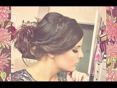 Easy Prom Up-Do | Hair Tutorial - YouTube