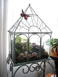 make it yourself stained glass wardian case - Google Search