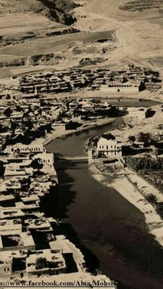 The Kurdish town of Zakho, Northern Iraq large Jewish community at the time. Mizrahi Jews, Garden Of Eden, Cultural Diversity, Kurdistan, Baghdad, Old Pictures, Historical Photos, City Photo, The Neighbourhood