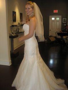 Marisa 737 lace organza wedding dress Dresses Pinterest