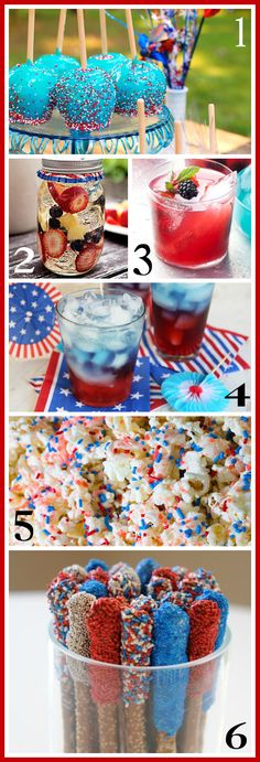 4th of July food and drink ideas - Ask Anna