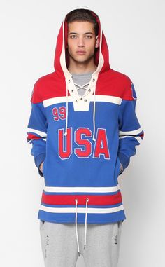 508fcc8adb4 Entree LS Icing Hockey Blue Hoodie by Entree Lifestyle