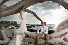 Big Island Trash the Dress Photo Session: Shi and Jeorsie | Robert ...