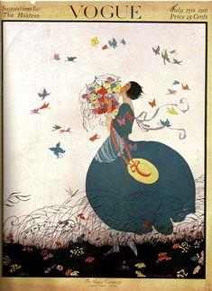 1916 Helen Dryden (American artist, industrial designer, 1887-1981) Vogue cover