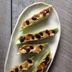 Ants On A Log | 25 Easy Breakfasts To Jumpstart Your Day