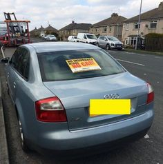 This Is Bradford - Local News Blog: Uninsured driver's seized Audi to be crushed by police