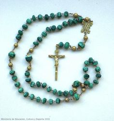 Objetos devocionales, rosario. CE01512