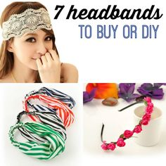 7 Headbands to Buy or DIY
