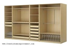 ikea closet design