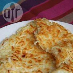 Hash browns - Pommes de terre paillasson @ allrecipes.fr