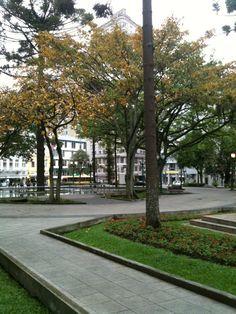 Praça Tiradentes em Curitiba, PR