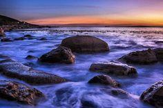 """""""Foam rocks"""" Kommetjie Beach, Cape Town"""