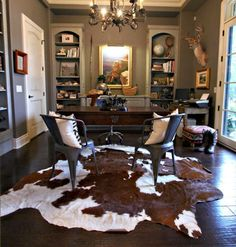 1000 Ideas About Cowhide Rugs On Pinterest Rug Size