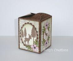 Коробочки, корзинки и новогодние игрушки из картона. Шаблоны (64) (650x542, 176Kb)