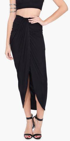 Waterfall Maxi Skirt