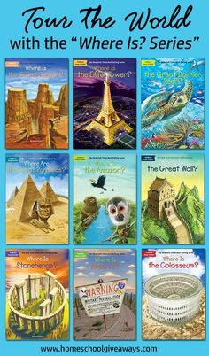 """Tour the World with the """"Where Is? Series"""" - Geography Books for Your Homeschool"""