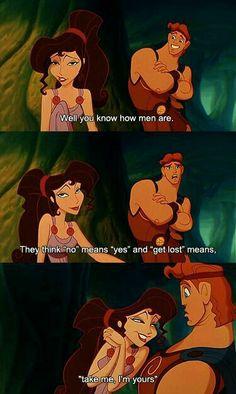 Disney knows what's up! — or at least they thought they do Disney Pixar, Disney Jokes, Disney Animation, Disney And Dreamworks, Disney Magic, Walt Disney, Disney Characters, Animation Movies, Meg Hercules