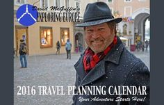 Each year we publish a colorful calendar featuring photos submitted by our tour alumni. We offer this calendar, free of
