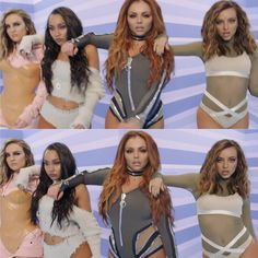 Official Little Mix Instagram account  The video for our new single #Touch is out now on VEVO