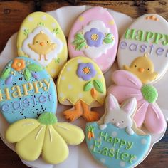 Easter Chick & Egg Cookies