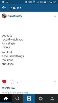 I legit could...❤