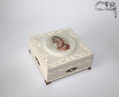 Exklusive Schatulle Holzkästchen Jewelry Box von UltroViolet