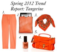 Tangerine Fashion - I just bought a bag - nearly identical to this one (#5) at H ($24.95)