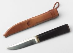 Tapio Wirkkala. Puukko Knife and Sheath. 1961