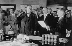 On July Former President William Howard Taft is sworn in as the Chief Justice of the Supreme Court of the United States, becoming the only person to ever serve as President and Supreme Court Justice. American Presidents, American History, President Roosevelt, Theodore Roosevelt, William Howard Taft, Warren G, Chief Justice, Supreme Court Justices