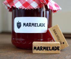 STEMPEL Marmelade von ROTFUX  - Produkte mit Herz auf DaWanda.com